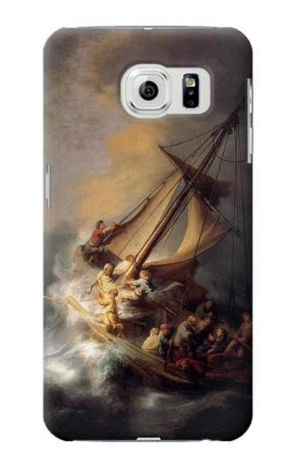 S1091 Rembrandt Christ in The Storm Case For Samsung Galaxy S6 Edge