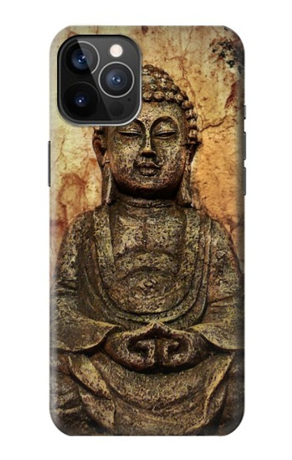 S0344 Buddha Rock Carving Case For iPhone 12, iPhone 12 Pro