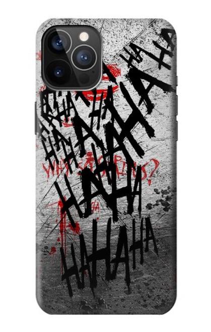 S3073 Joker Hahaha Blood Splash Case For iPhone 12, iPhone 12 Pro