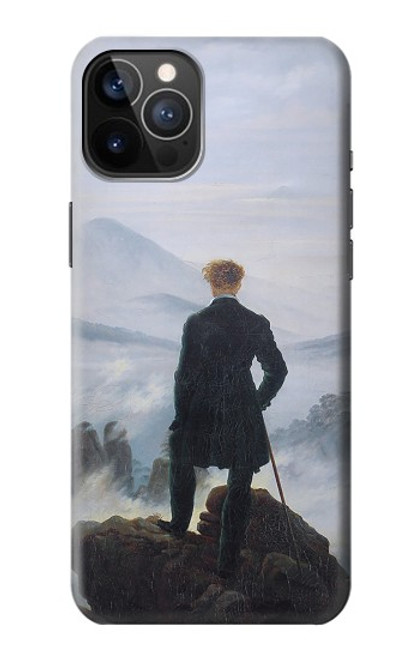 S3789 Wanderer above the Sea of Fog Case For iPhone 12, iPhone 12 Pro