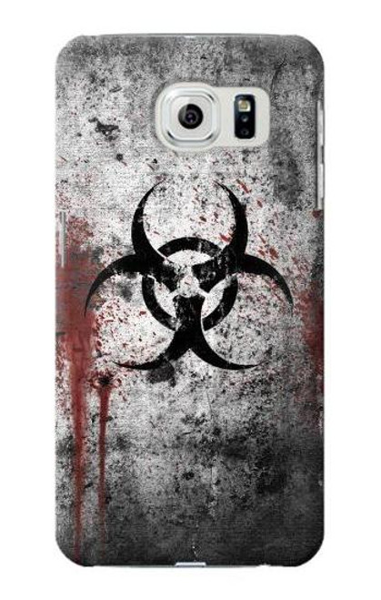 S2440 Biohazards Biological Hazard Case For Samsung Galaxy S6 Edge