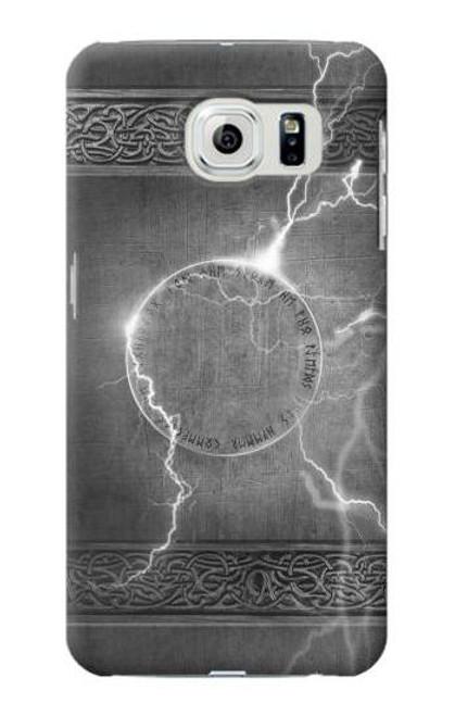 S2533 Thor Thunder Strike Hammer Case For Samsung Galaxy S6 Edge