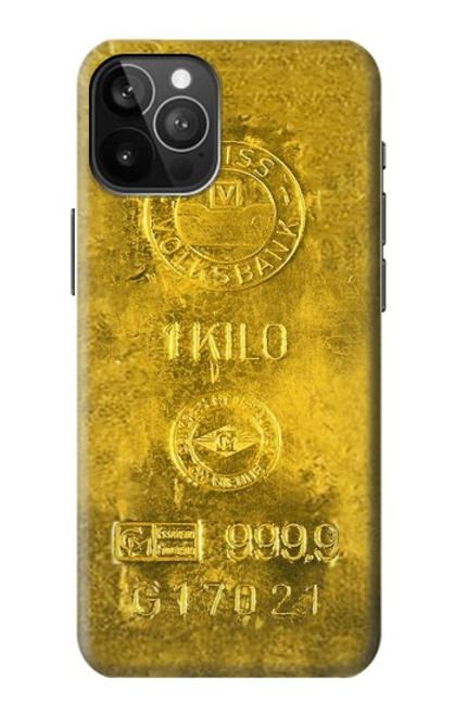 S2618 One Kilo Gold Bar Case For iPhone 12 Pro Max
