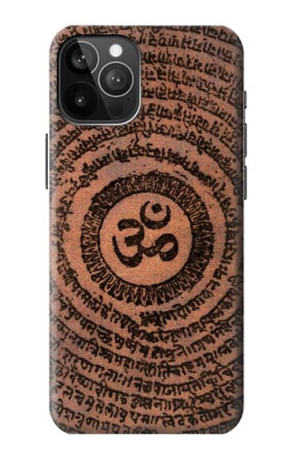 S2874 Om Symbol Tattoo Case For iPhone 12 Pro Max