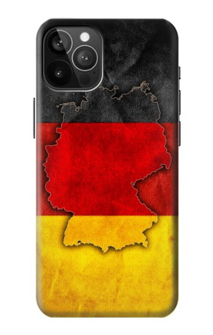 S2935 Germany Flag Map Case For iPhone 12 Pro Max