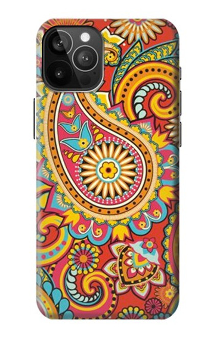 S3402 Floral Paisley Pattern Seamless Case For iPhone 12 Pro Max