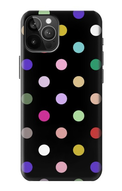 S3532 Colorful Polka Dot Case For iPhone 12 Pro Max