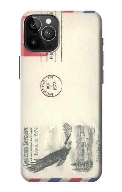 S3551 Vintage Airmail Envelope Art Case For iPhone 12 Pro Max