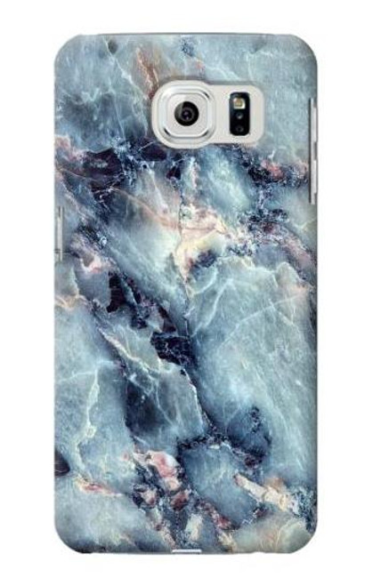 S2689 Blue Marble Texture Graphic Case For Samsung Galaxy S6 Edge