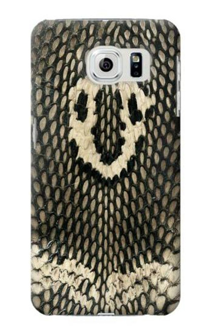 S2711 King Cobra Snake Skin Graphic Case For Samsung Galaxy S6 Edge