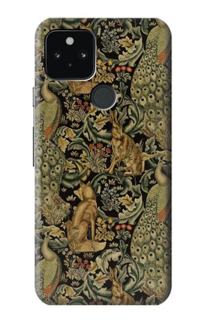 S3661 William Morris Forest Velvet Case For Google Pixel 5