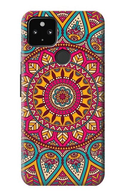 S3694 Hippie Art Pattern Case For Google Pixel 4a 5G