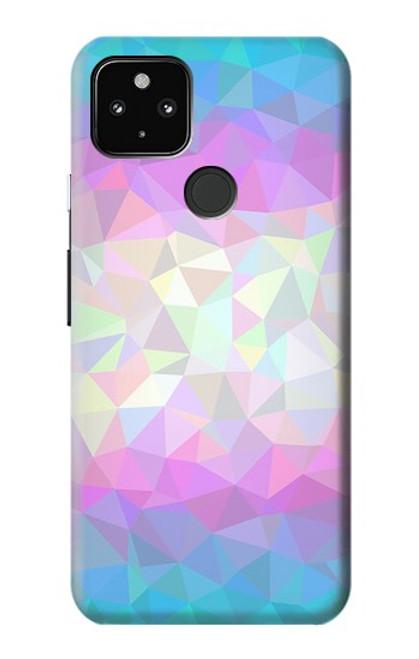 S3747 Trans Flag Polygon Case For Google Pixel 4a 5G