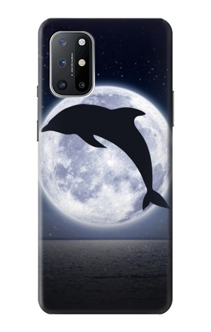 S3510 Dolphin Moon Night Case For OnePlus 8T