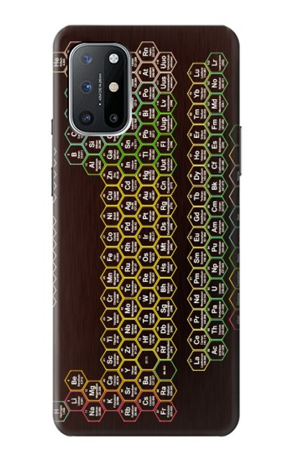 S3544 Neon Honeycomb Periodic Table Case For OnePlus 8T