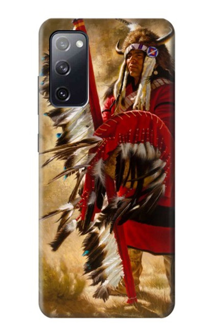 S0817 Red Indian Case For Samsung Galaxy S20 FE