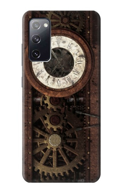 S3221 Steampunk Clock Gears Case For Samsung Galaxy S20 FE