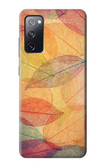 S3686 Fall Season Leaf Autumn Case For Samsung Galaxy S20 FE