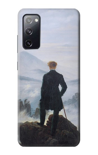 S3789 Wanderer above the Sea of Fog Case For Samsung Galaxy S20 FE