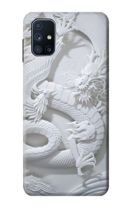 S0386 Dragon Carving Case For Samsung Galaxy M51