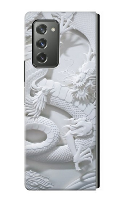S0386 Dragon Carving Case For Samsung Galaxy Z Fold2 5G