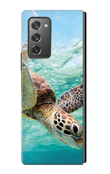 S1377 Ocean Sea Turtle Case For Samsung Galaxy Z Fold2 5G