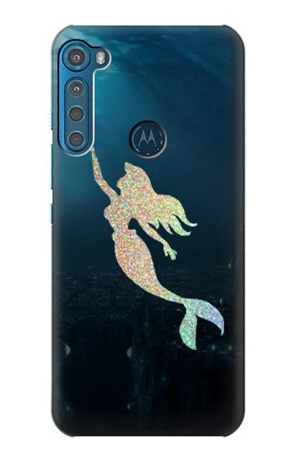 S3250 Mermaid Undersea Case For Motorola One Fusion+