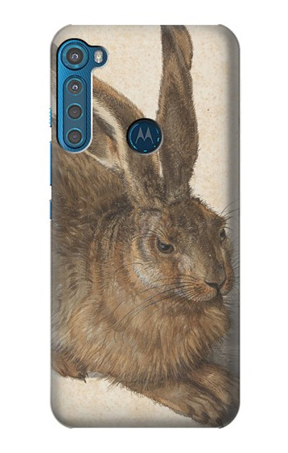 S3781 Albrecht Durer Young Hare Case For Motorola One Fusion+