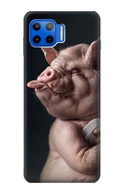 S1273 Crazy Pig Case For Motorola Moto G 5G Plus