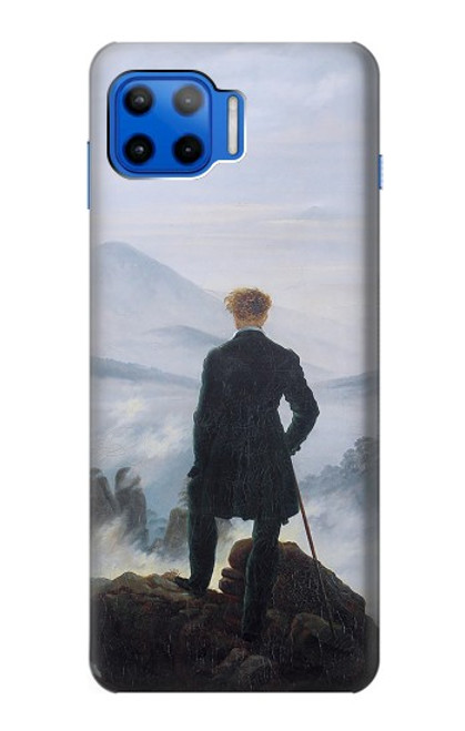 S3789 Wanderer above the Sea of Fog Case For Motorola Moto G 5G Plus