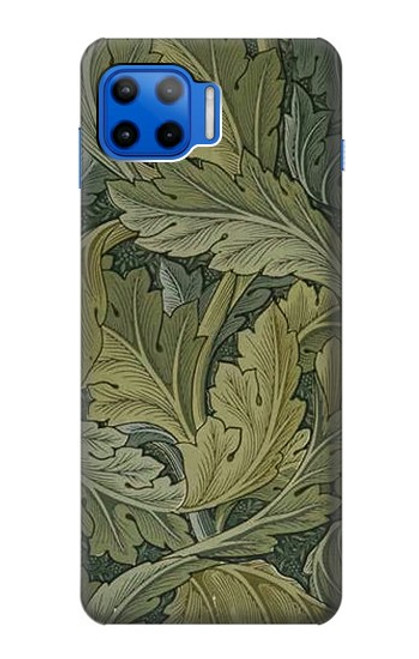 S3790 William Morris Acanthus Leaves Case For Motorola Moto G 5G Plus