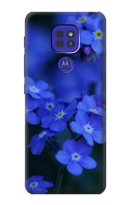S0782 Forget me not Case For Motorola Moto G9 Play