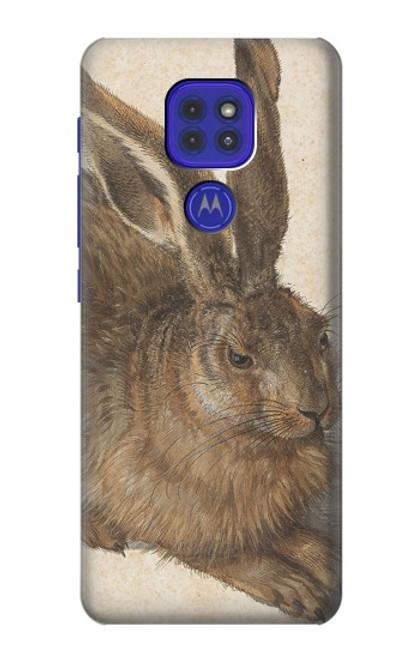 S3781 Albrecht Durer Young Hare Case For Motorola Moto G9 Play