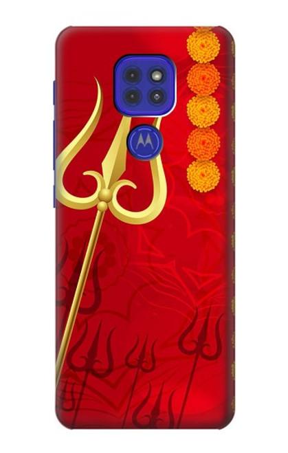 S3788 Shiv Trishul Case For Motorola Moto G9 Play