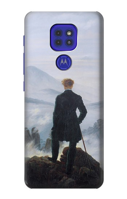 S3789 Wanderer above the Sea of Fog Case For Motorola Moto G9 Play