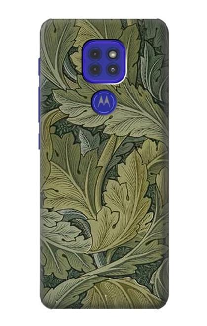 S3790 William Morris Acanthus Leaves Case For Motorola Moto G9 Play