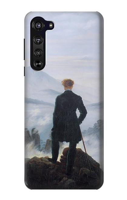 S3789 Wanderer above the Sea of Fog Case For Motorola Edge