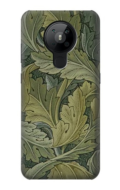 S3790 William Morris Acanthus Leaves Case For Nokia 5.3