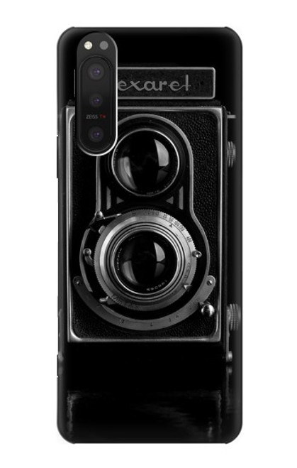 S1979 Vintage Camera Case For Sony Xperia 5 II