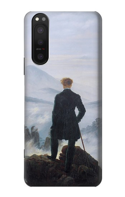 S3789 Wanderer above the Sea of Fog Case For Sony Xperia 5 II