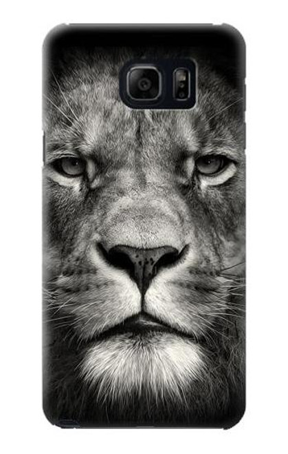 S1352 Lion Face Case For Galaxy S6 Edge Plus