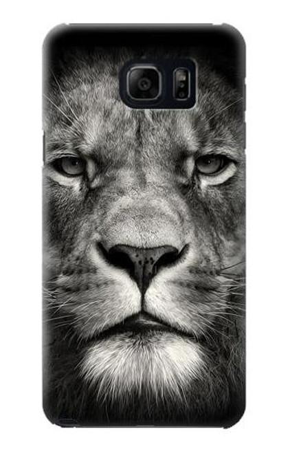 S1352 Lion Face Case For Galaxy S6 Edge Plus