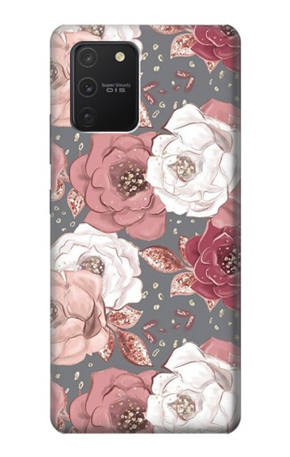 S3716 Rose Floral Pattern Case For Samsung Galaxy S10 Lite
