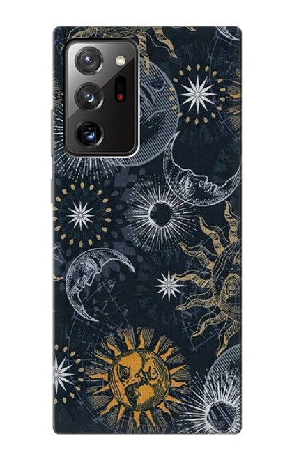 S3702 Moon and Sun Case For Samsung Galaxy Note 20 Ultra, Ultra 5G