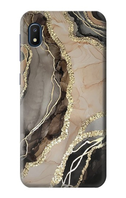 S3700 Marble Gold Graphic Printed Case For Samsung Galaxy A10e