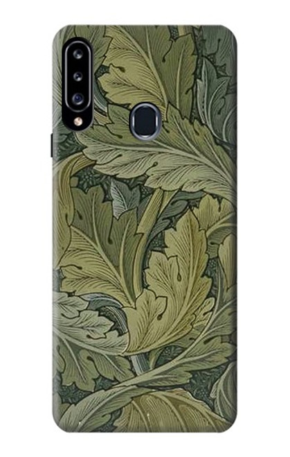 S3790 William Morris Acanthus Leaves Case For Samsung Galaxy A20s