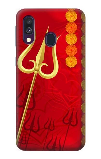 S3788 Shiv Trishul Case For Samsung Galaxy A40