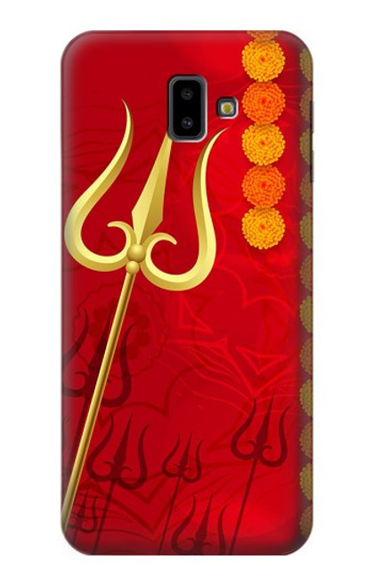 S3788 Shiv Trishul Case For Samsung Galaxy J6+ (2018), J6 Plus (2018)