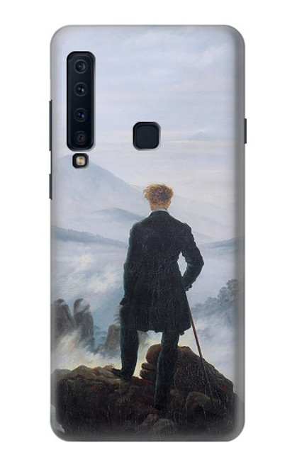 S3789 Wanderer above the Sea of Fog Case For Samsung Galaxy A9 (2018), A9 Star Pro, A9s