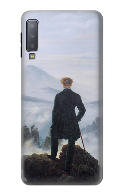 S3789 Wanderer above the Sea of Fog Case For Samsung Galaxy A7 (2018)